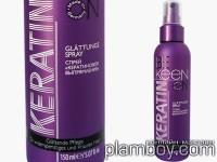Спрей за поддържане на права коса с кератин и креатин - Keen
