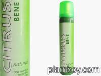Дамски дезодорант Citrus Bene natural сравнен със зелено C-Thrue