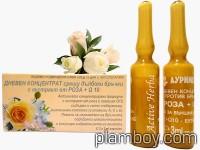 Ампули дневен концентрат против бръчки с роза и Q10 - Ауриметрия