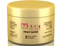 Възстановяваща маска за тънки и порьозни коси с плодови киселини, 250 мл - Imperity